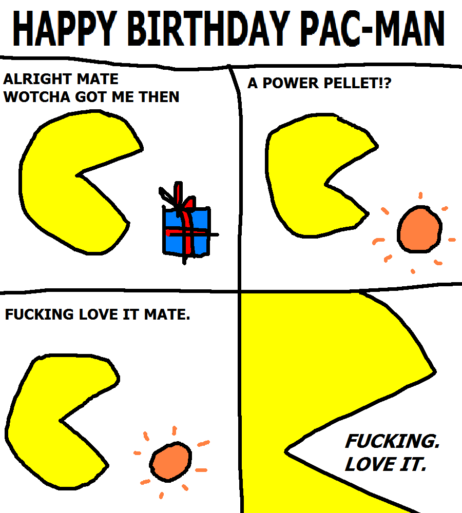 214. Happy Birthday Pac-Man
