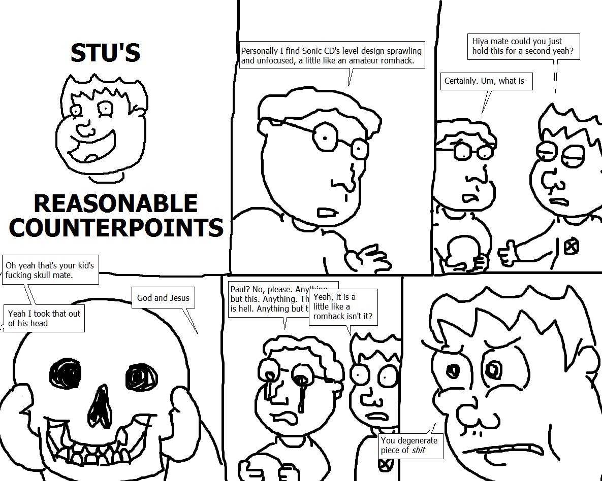 344. Stu's Reasonable Counterpoints VIII