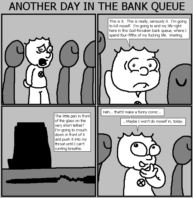 71. Bank Queue