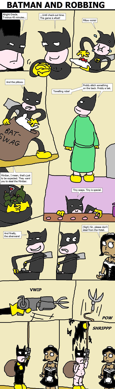338. Batman and Robbing