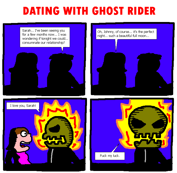 13. Dating With Ghost Rider