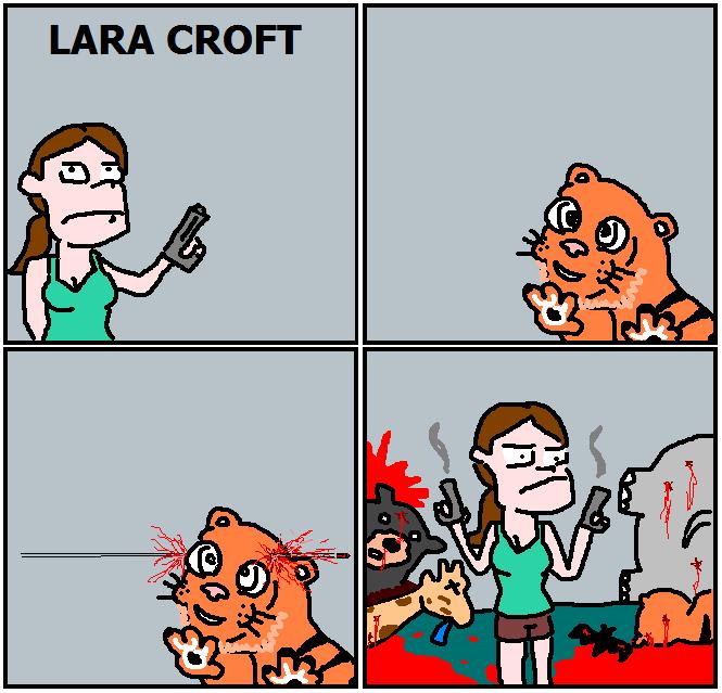 166. Lara Croft