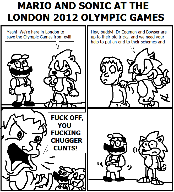 142. Mario & Sonic at the London 2012 Olympic Games