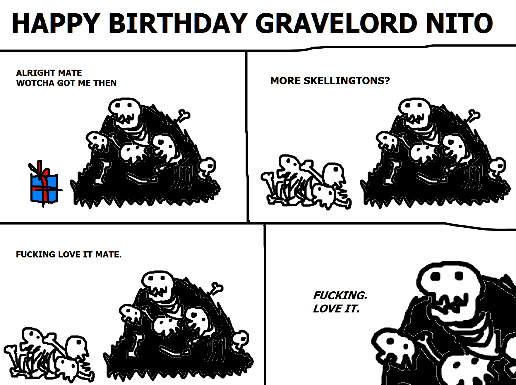 280. Happy Birthday Gravelord Nito