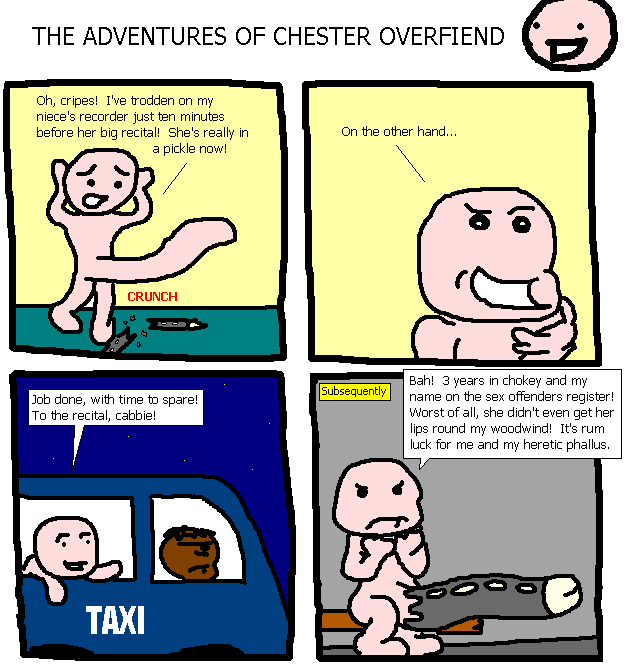 57. The Adventures of Chester Overfiend IV