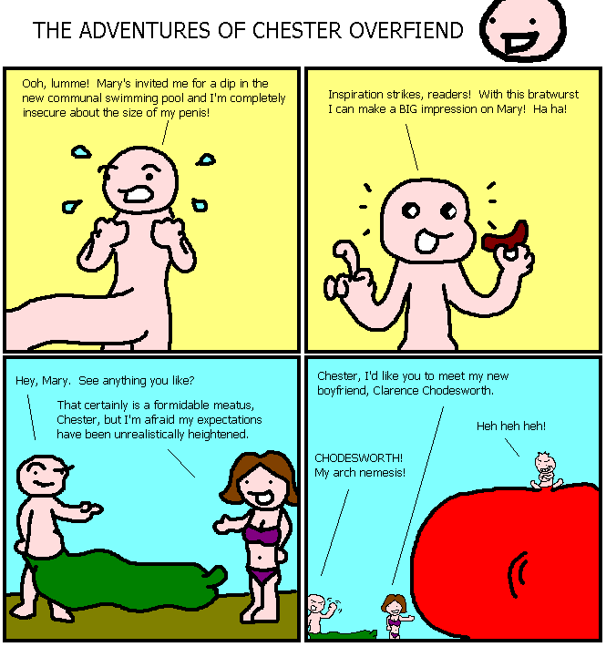 72. The Adventures of Chester Overfiend V