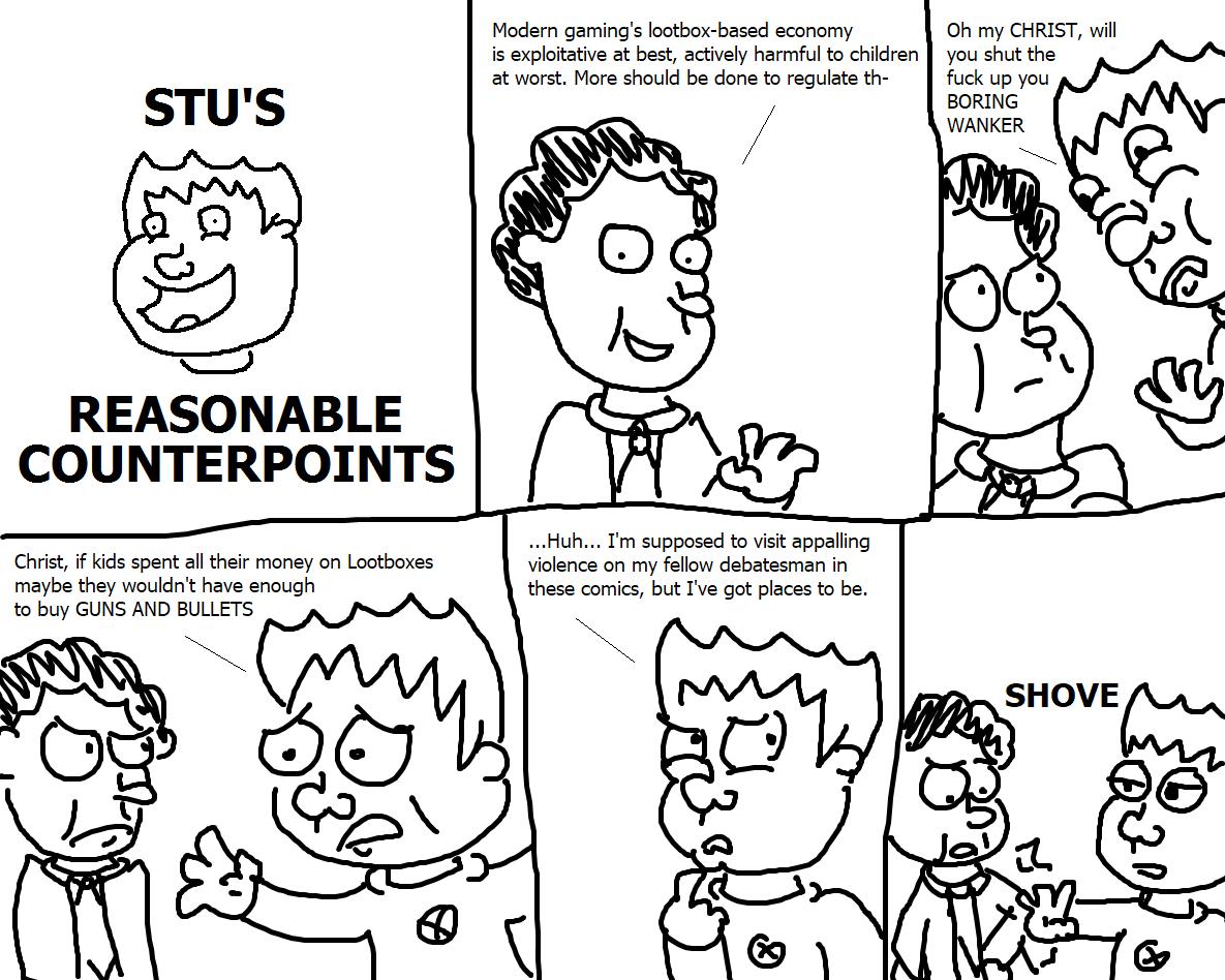 368. Stu's Reasonable Counterpoints X