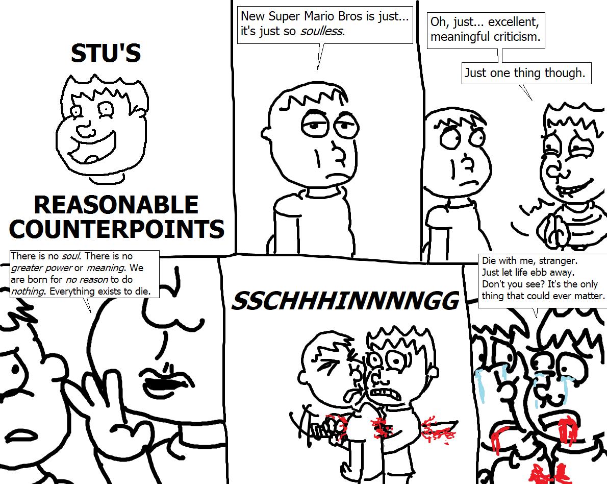 411. Stu's Reasonable Counterpoints XI
