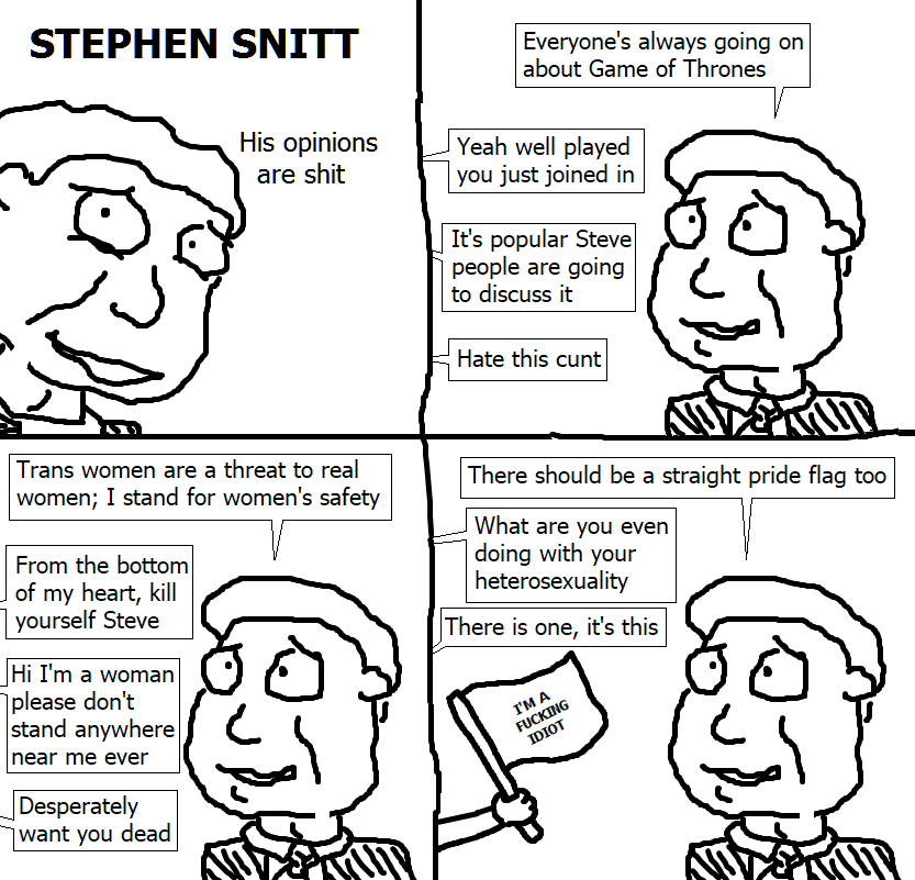 423. Stephen Snitt: His Opinions are Shit III