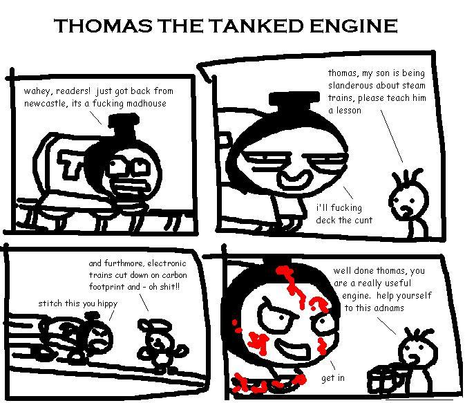 2. Thomas the Tanked Engine
