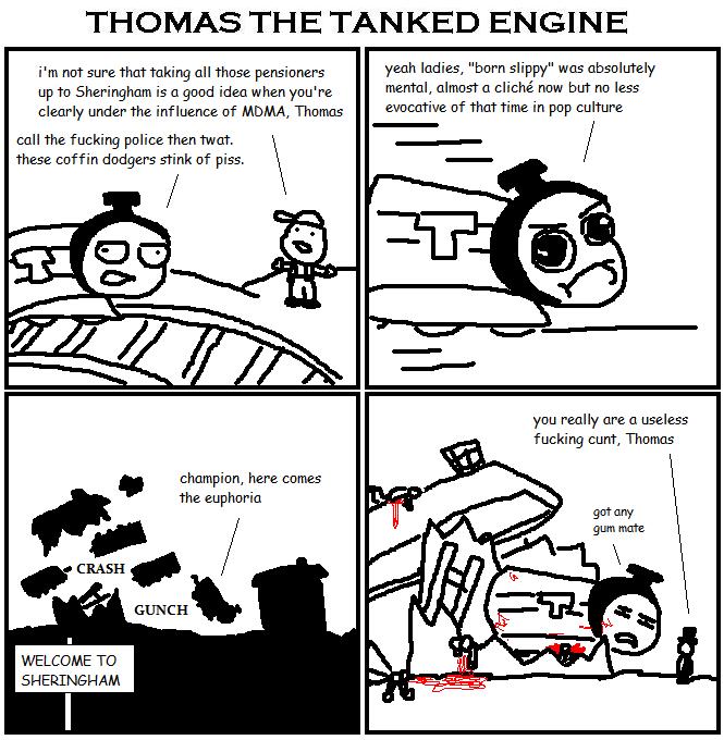 125. Thomas the Tanked Engine X