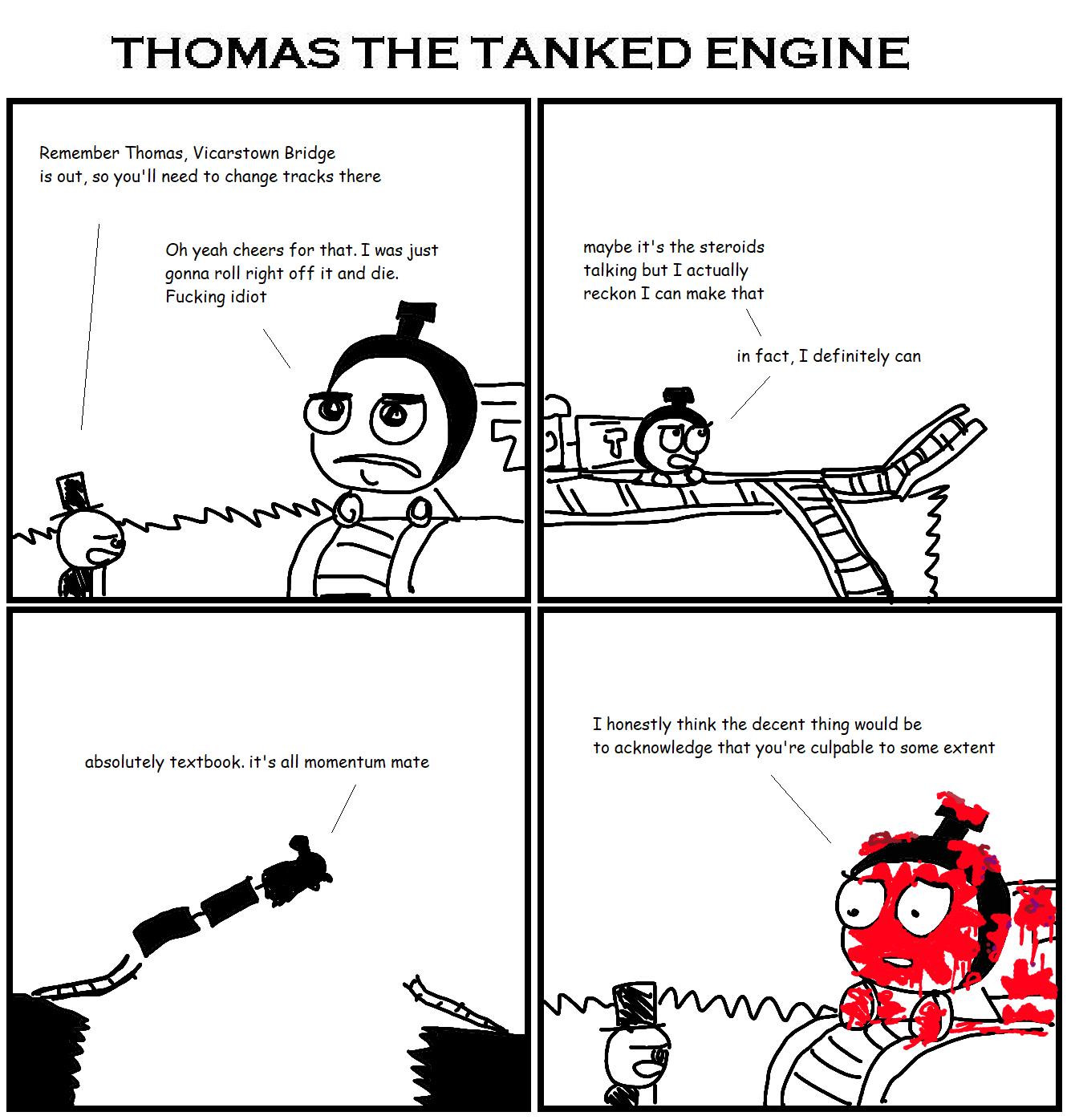 435. Thomas the Tanked Engine XVI