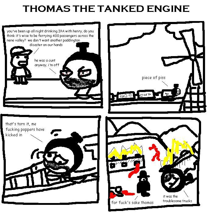 6. Thomas the Tanked Engine II