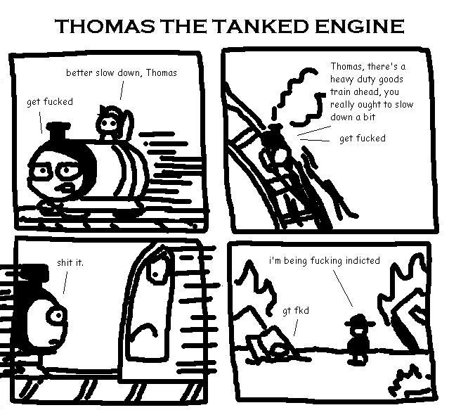 32. Thomas the Tanked Engine VI