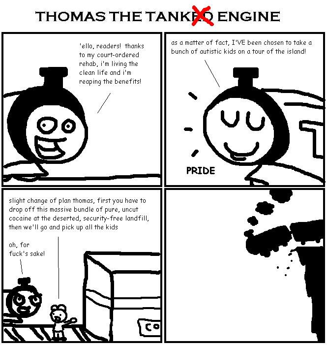 88. Thomas the Tanked Engine VII