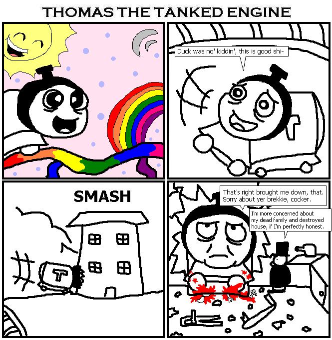 102. Thomas the Tanked Engine IX