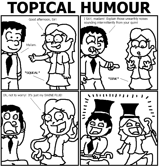73. Topical Humour