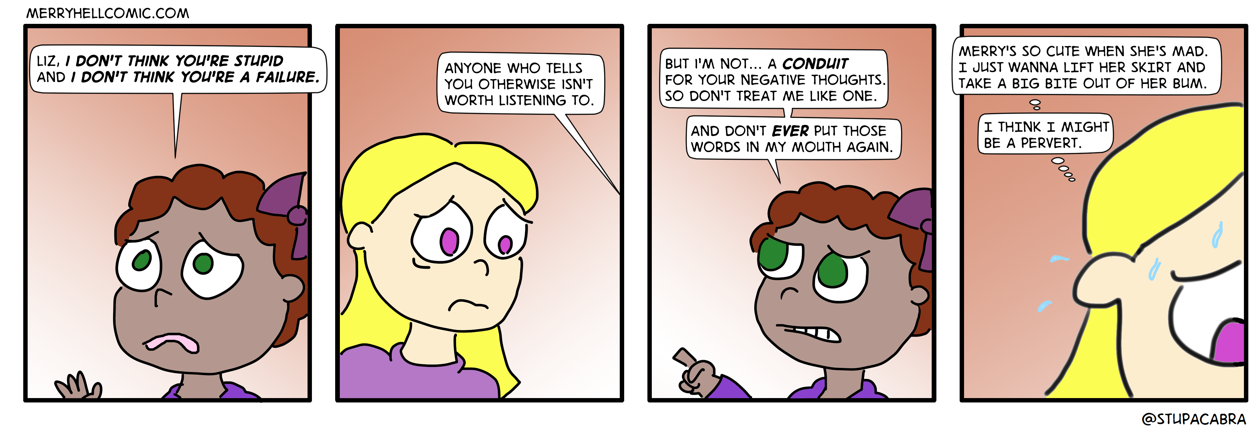 68. Liz's mad thoughts