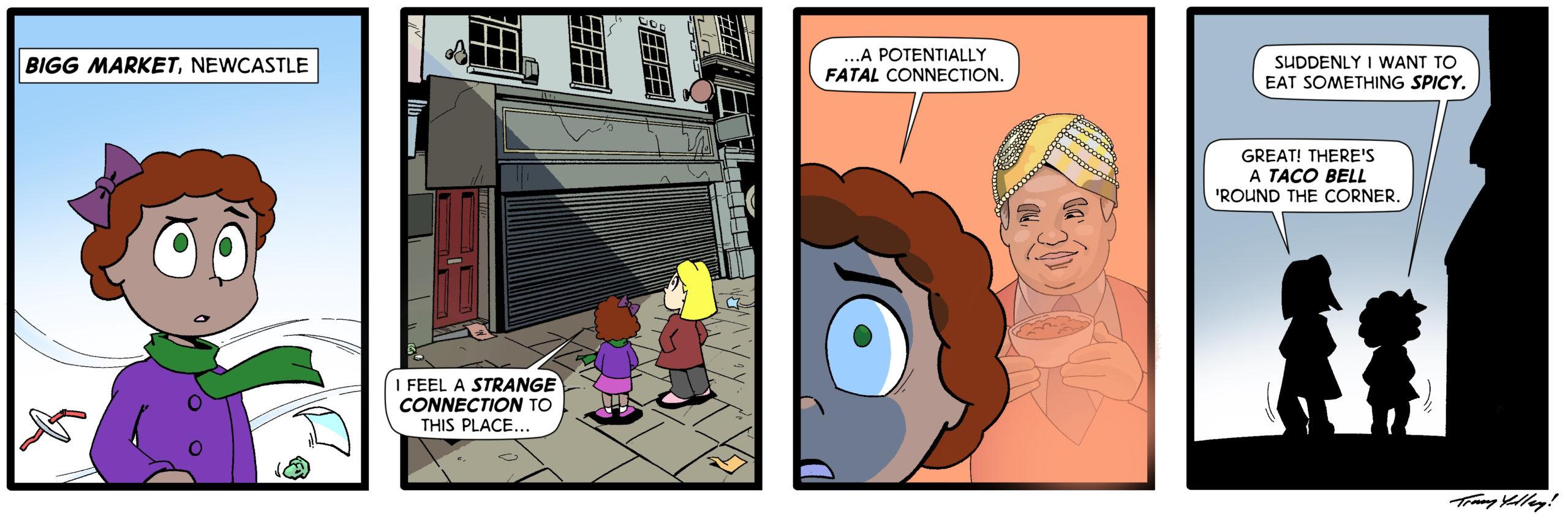 194. Guest strip by Tracy Yardley