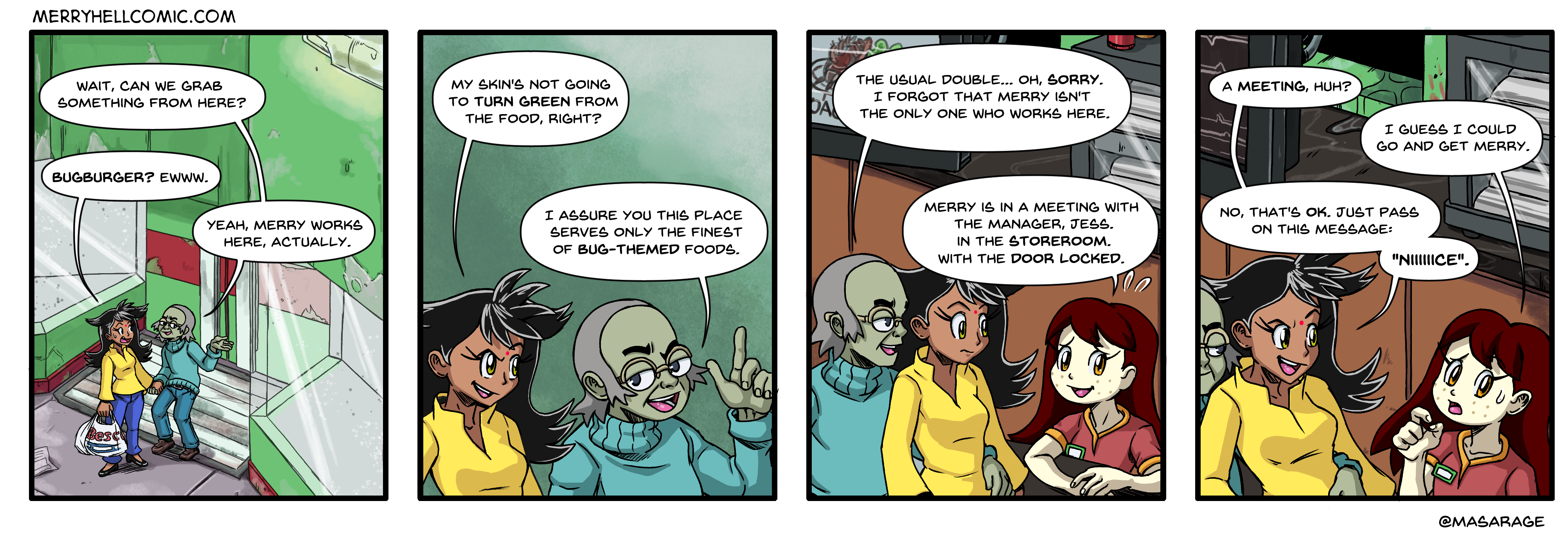 271. Guest strip by @Masarage IV