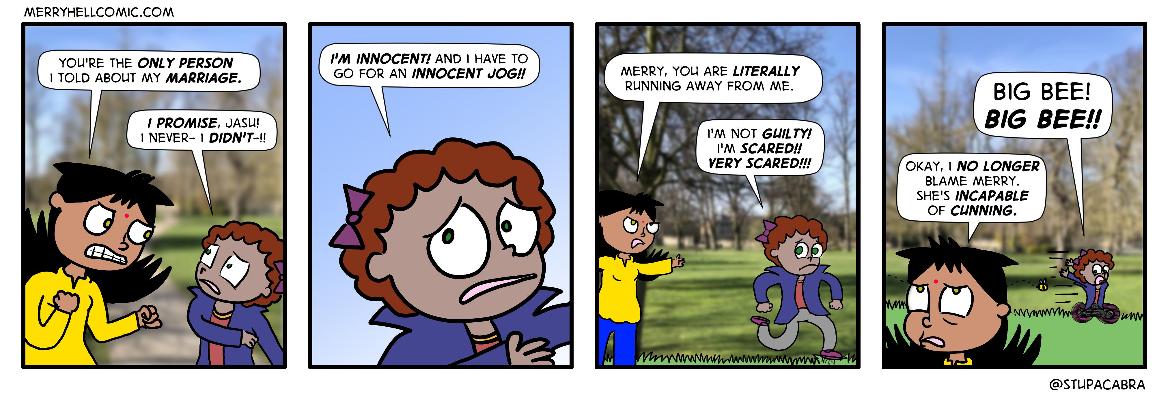 340. Innocent jog