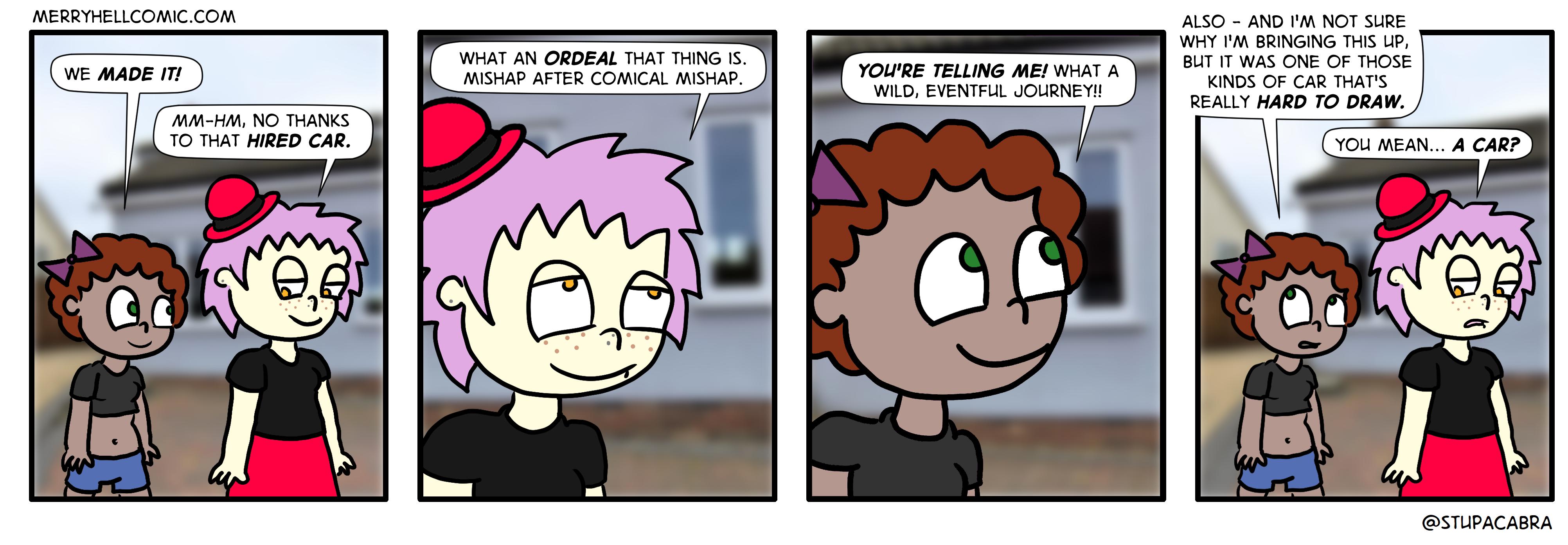 358. Comical mishap