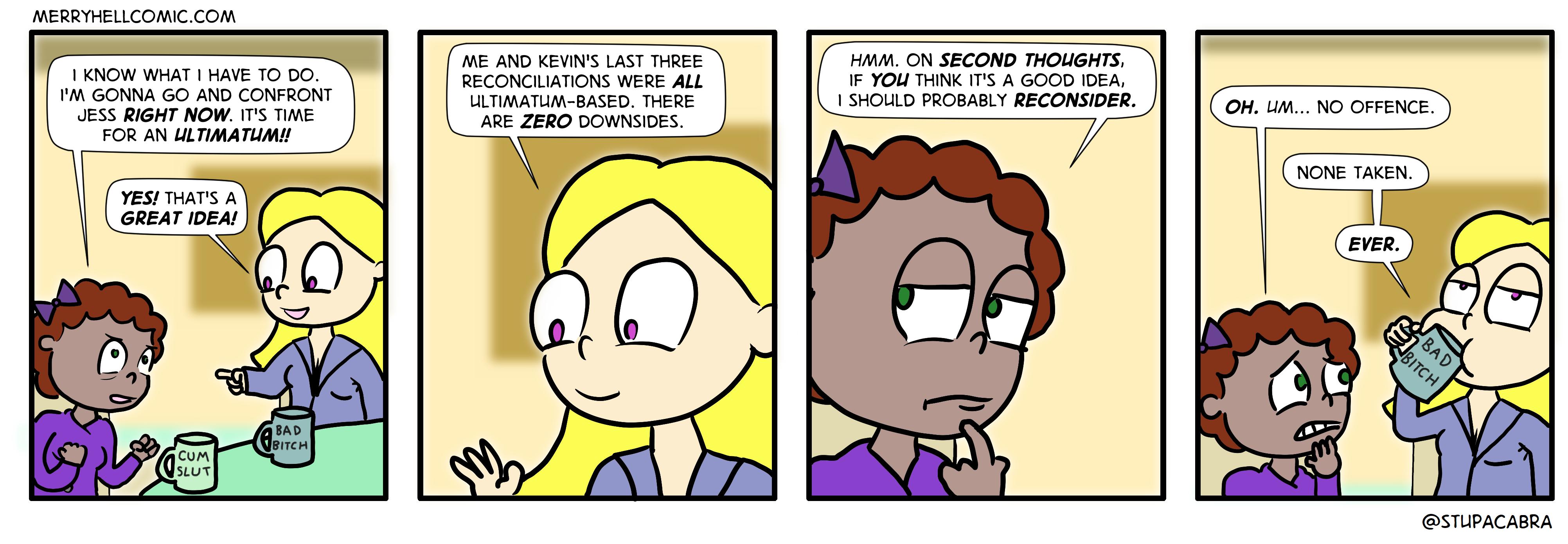 456. Ultimatum